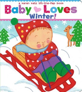 baby loves winter